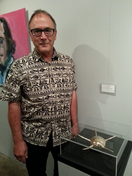 Jim Hornung with Fertility Object