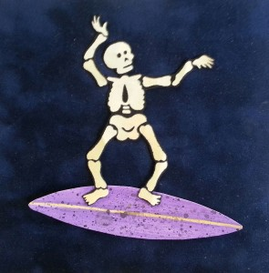 Surfking Skeleton